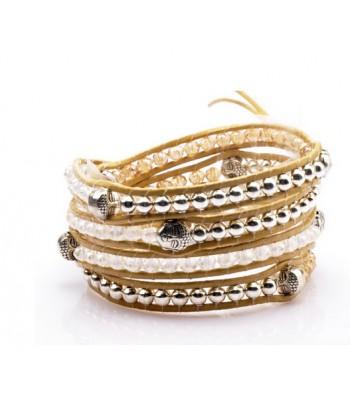 Buddha Beaded Wrap Bracelet