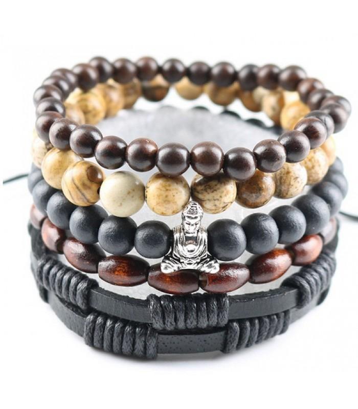 Beaded Bracelet | Budda Bracelet for Men, Women