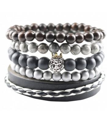 Beaded Bracelet : Lion Bracelet