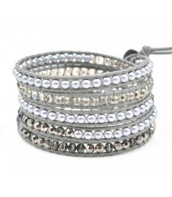 Silver Bead Bracelet for Ladies