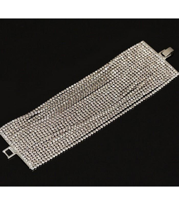 Cheap Womens Bracelet 22 Layer Crystal Bracelet for Women