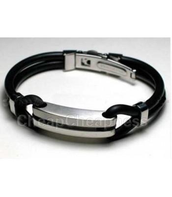 Mens Urban Rubber Bracelet