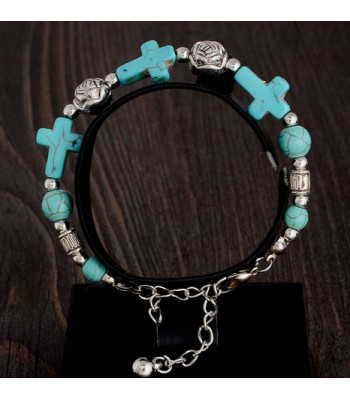 Gypsy Cross Bracelet
