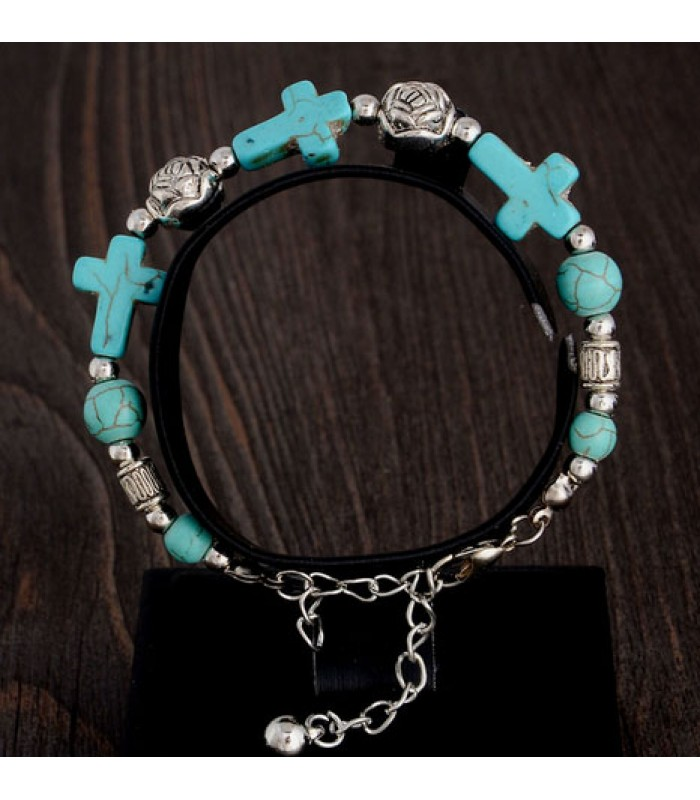 Gypsy Cross Bracelet