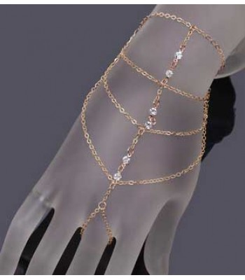 Diamond Finger Chain