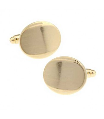 Thumb Press Gold Cufflinks for Men