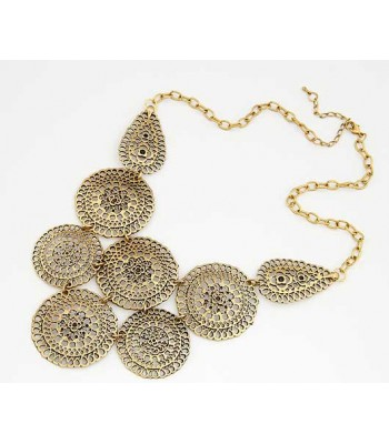 Collar Necklace Gold Vintage
