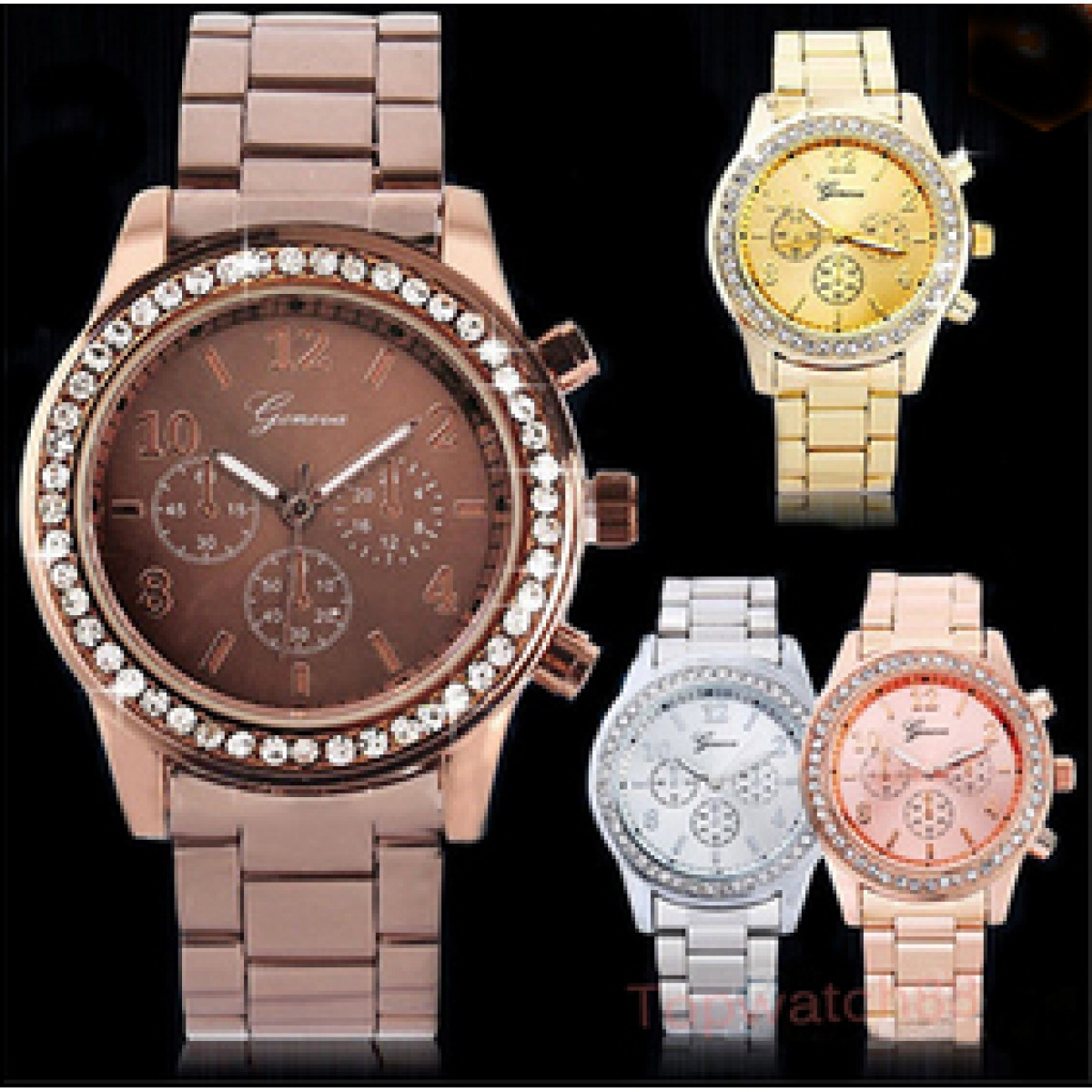 watches multifunction dillards gold accessories zi fossil boyfriend watch c women rose s riley
