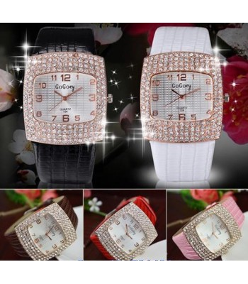 Sparkle - Black Watch with Crystal