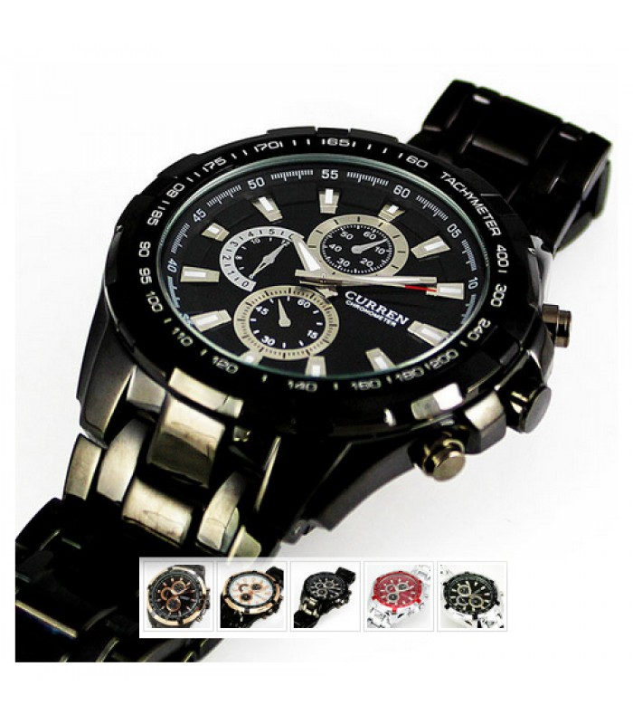 Curren Chrono - Mens Sports Watch