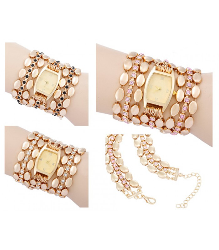 The Pearl Drop - Ladies Wrap Watch