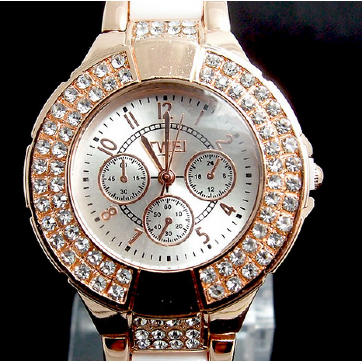 Crystalize Bling Watch From Category Watches Trendi