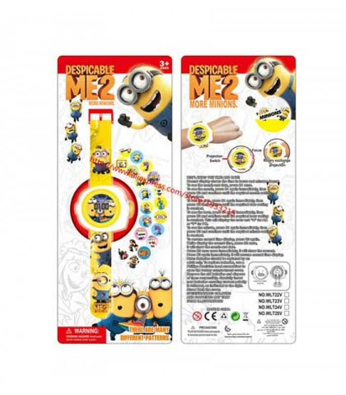 Girls Despicable Me Projector Watch for Boys